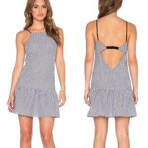 Saylor Addison Gingham Mini Dress Size Medium